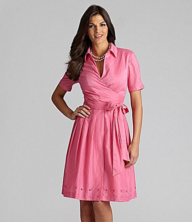 Alex Marie Petites Maura Cotton Dress