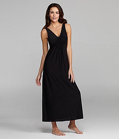 Half Moon Eclipse By Modern Movement Crochet V-Neck Loungewear Maxi Dress