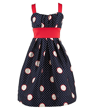 Ruby Rox 4-6X Polka Dot Emma Dress