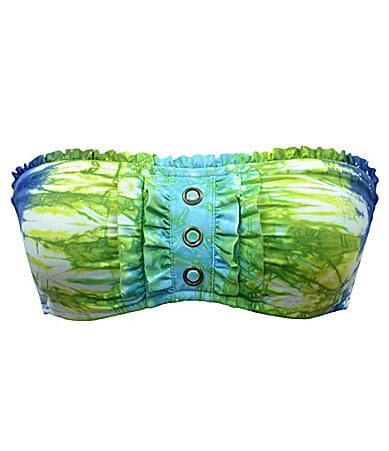 Lucky Brand Caribbean Crush Bandeau Top