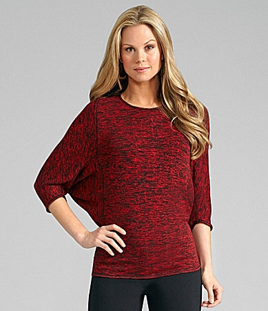 M.S.S.P. Dolman Sleeve Salt & Pepper Tunic