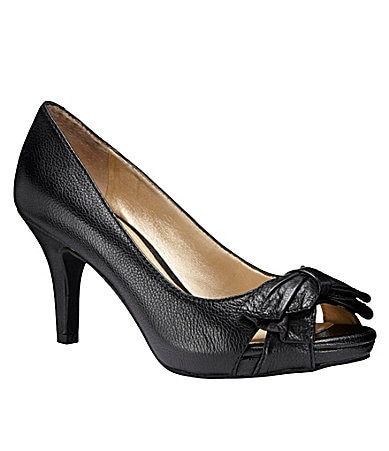 Alex Marie Tori Peep-Toe Pumps