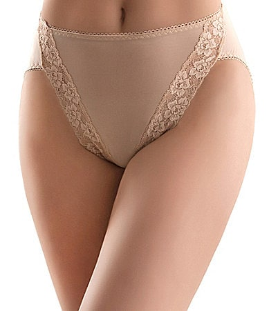 Wacoal Bodysuede Hi-Cut Brief Panty