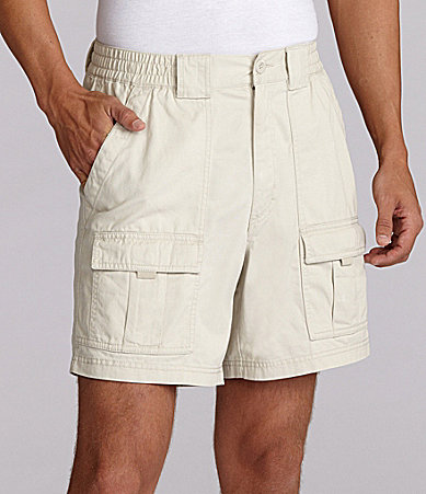 Roundtree & Yorke Big & Tall Hiking Cargo Shorts
