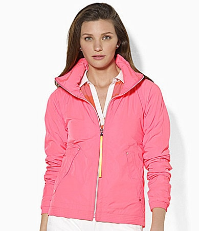 Lauren Active Honor Microfiber Jacket