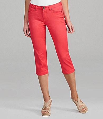 Liverpool Jeans Company Michelle Colored Capri Jeans