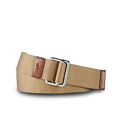 Polo Ralph Lauren Solid Web Belt