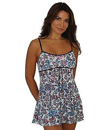 Fit 4 U Gypsy Empire Drawstring Swimdress