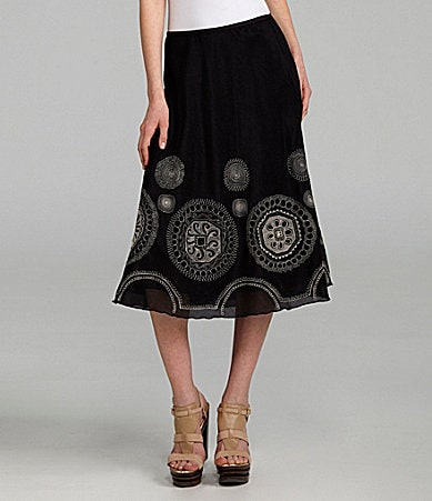 ZoZo Embroidered Skirt