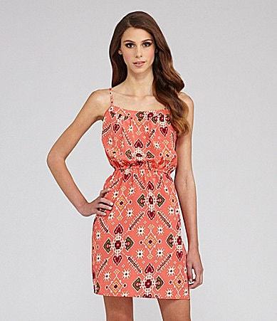 Willow & Clay Sleeveless Print Sundress