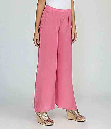 Creative Commune Colored Wide-Leg Palazzo Pants