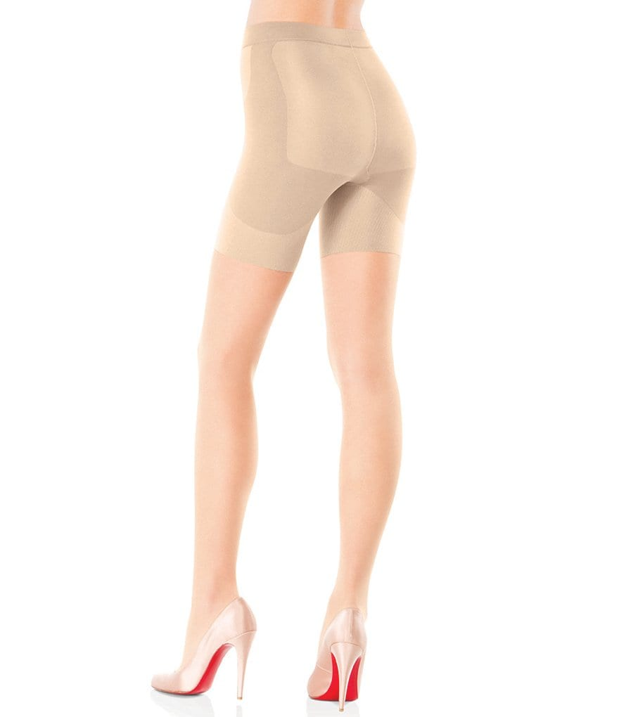 Spanx Booty-Full Boosting Reinforced Toe Sheer Pantyhose