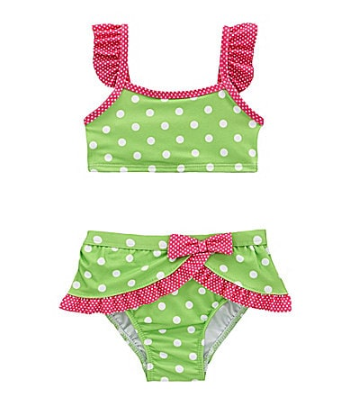 Penelope Mack Infant Polka Dot 2-Piece Swimsuit