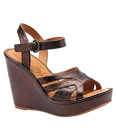 Born Women�s Pascha Wedge Sandals
