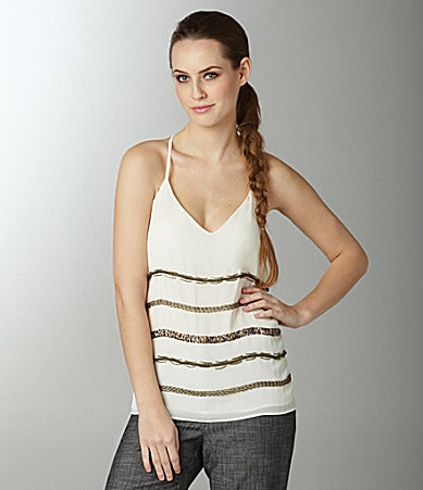 Greylin Montana Beaded Tank Top