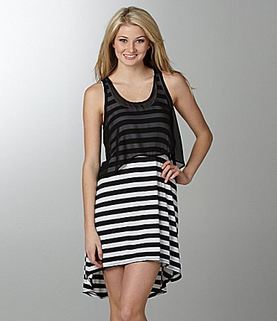 Lily White 2-Fer Tank Dress