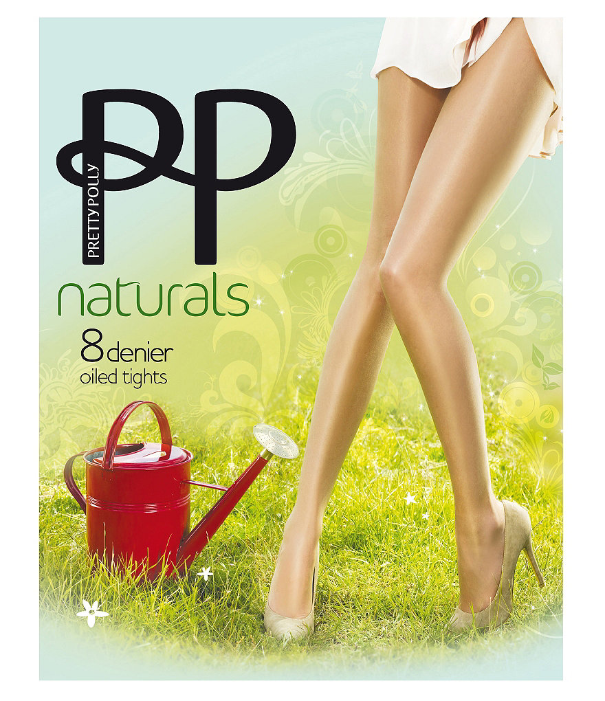 Pretty Polly Oiled Naturals Sheen Pantyhose