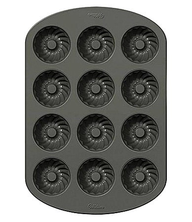 Wilton Non-Stick Mini 12 Cavity Fluted Pan