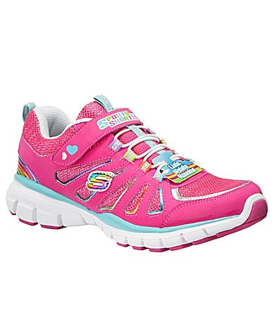 Skechers Girls Sporty Shorty-Lite Spirit Sneakers