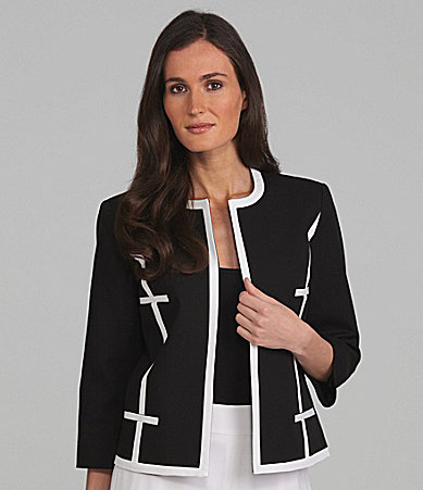Louben Piped Trim Jacket