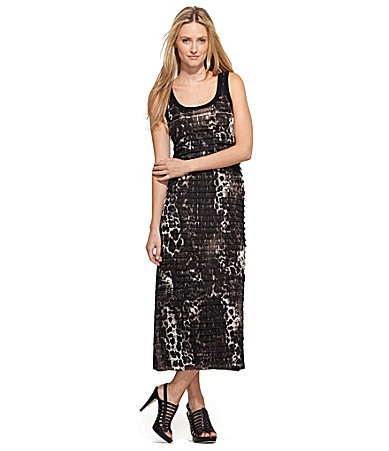 Karen Kane Animal-Print Maxi Dress