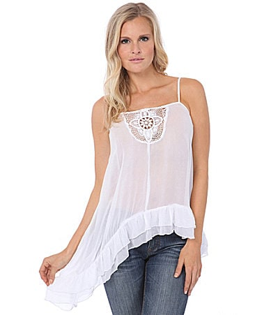 Buffalo David Bitton Monika Asymmetric Hem Top