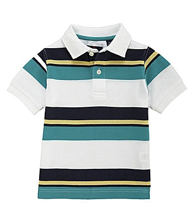 Class Club 2T-7 Bar Stripe Pique Polo