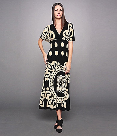 Calessa Printed Dress