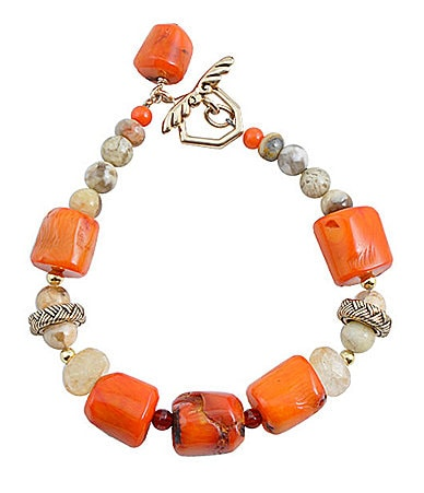 Barse Harmony Beaded Toggle Bracelet