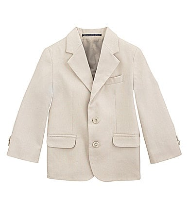 Class Club 2T-7 Linen-Look Blazer Jacket