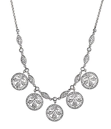 Nadri Sophia Crystal Frontal Necklace
