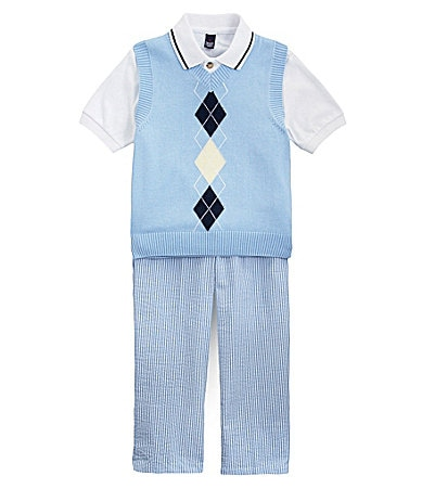 Class Club 2T-7 Sweater Vest Set