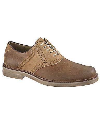Hush Puppies Men�s Authentic Leather Oxfords