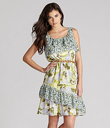 Gianni Bini Katie Belted Dress