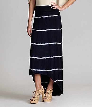 Gianni Bini Frances Tie-Dye Maxi Skirt