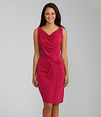 MICHAEL Michael Kors Sleeveless Draped Dress