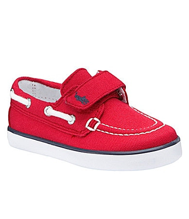 Polo Ralph Lauren Boys Sander Ez Boat Shoes