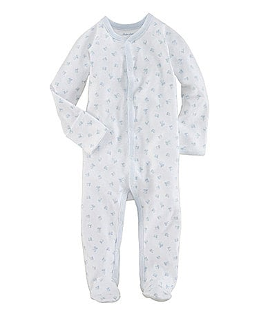 Ralph Lauren Childrenswear Newborn Block Printed Coverall