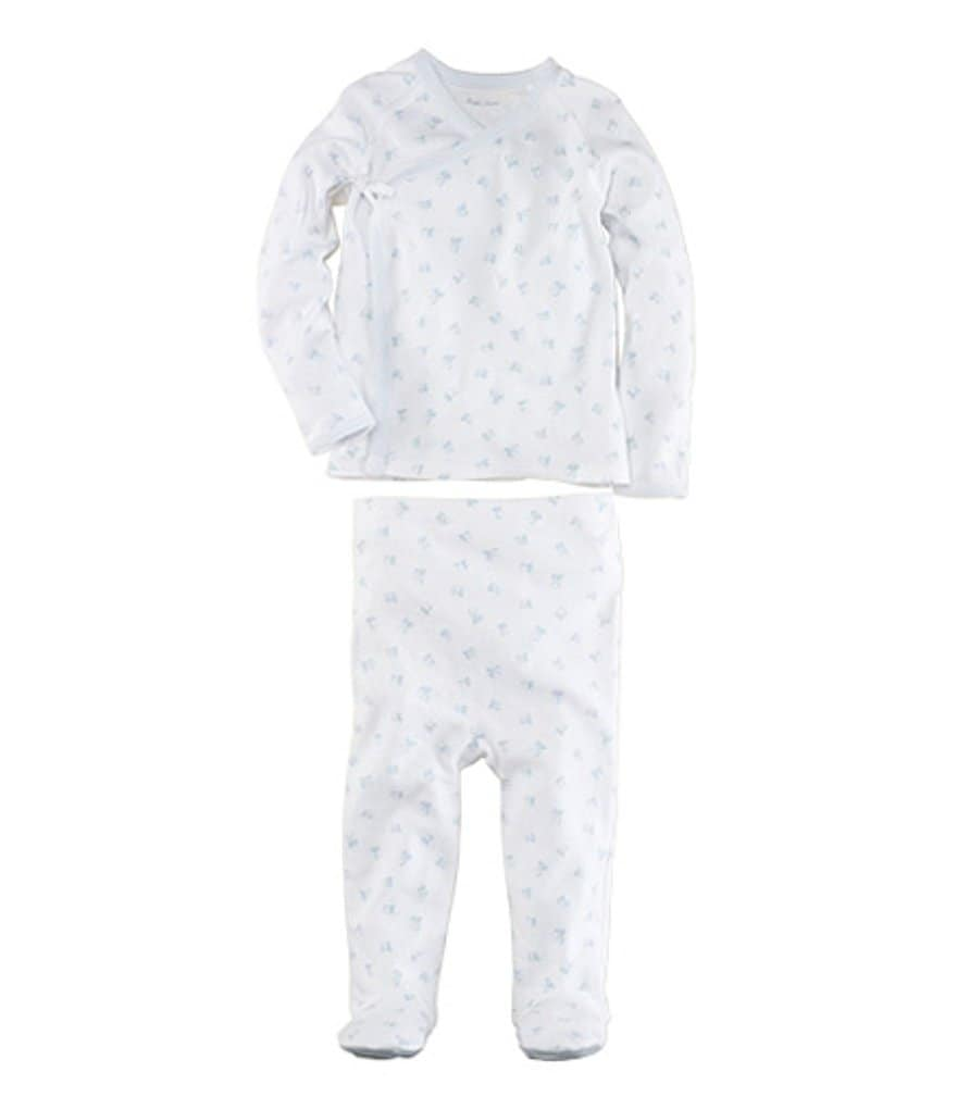 Ralph Lauren Childrenswear Newborn Printed Kimono Set