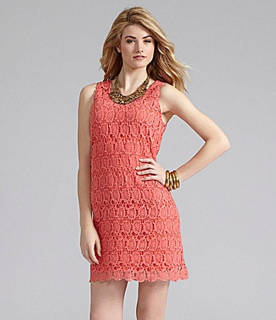 Cremieux Amber Crochet Lace Dress