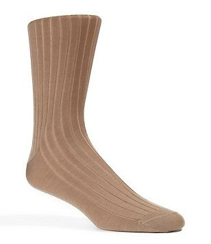 Cremieux Cotton Rib Dress Socks
