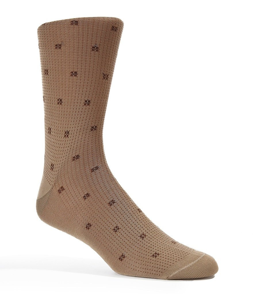 Cremieux Pindot & Square Dress Socks