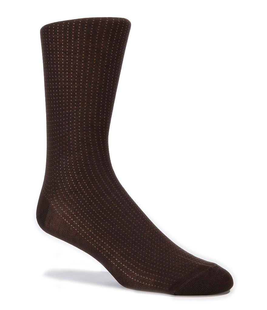 Cremieux Pindot Dress Socks