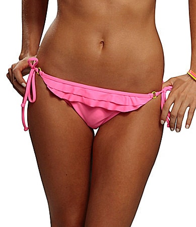 Bikini Lab Stereo Lovin String Tie-Side Bottom