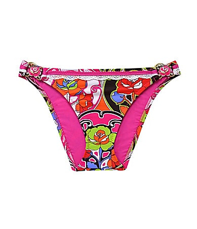 Betsey Johnson Deco Rose Hipster Bottom