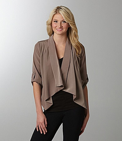Takara Draped Cozy Jacket