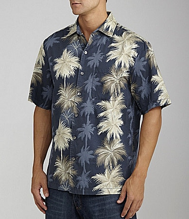 Caribbean Starburst Print Cotton Shirt