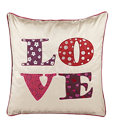 Home Fashions Love Decorative Pillow