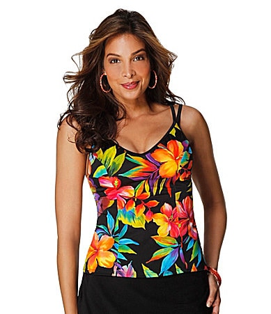 Miraclesuit Rainbow Brights Tankini Top