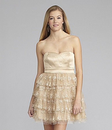 GB Lace-Tier Dress